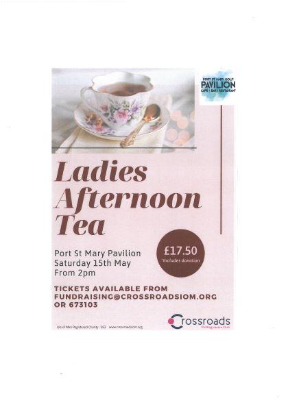 Ladies Afternoon Tea - Crossroads fundraiser